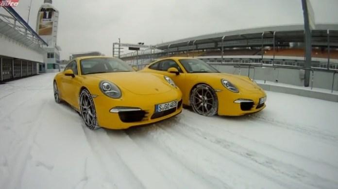 Porsche 911 at Hockenheim