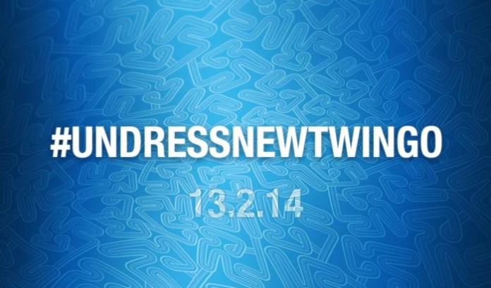 Undress all-new Twingo one tweet at a time