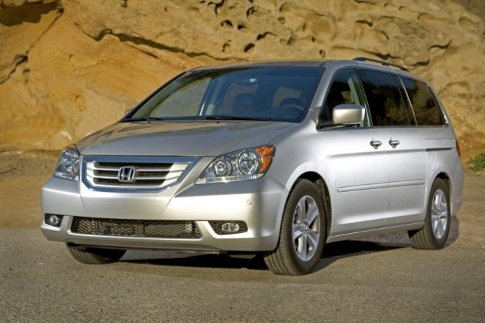 2010 Honda Odyssey Touring.