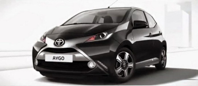2014 Toyota Aygo leaked photo 1