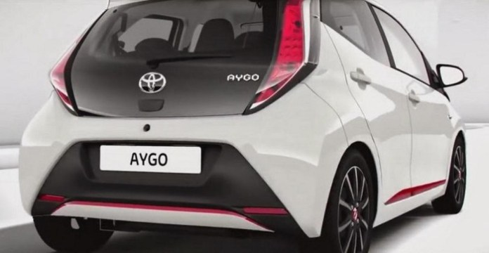 2014 Toyota Aygo leaked photo 2
