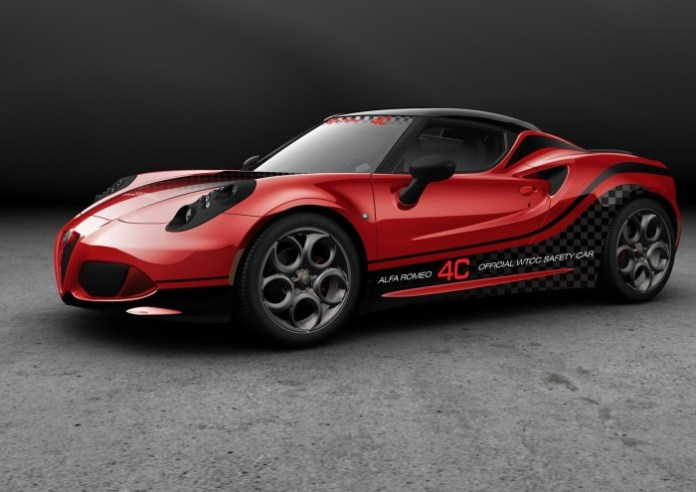 Alfa Romeo 4C Safety Car WTCC (1)