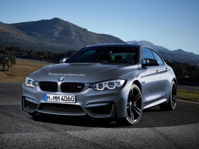 BMW M4 Gran Coupe render 1