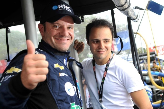 Barrichello-Massa