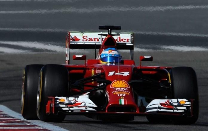 Fernando Alonso F14 T