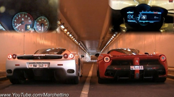 Ferrari Enzo vs LaFerrari