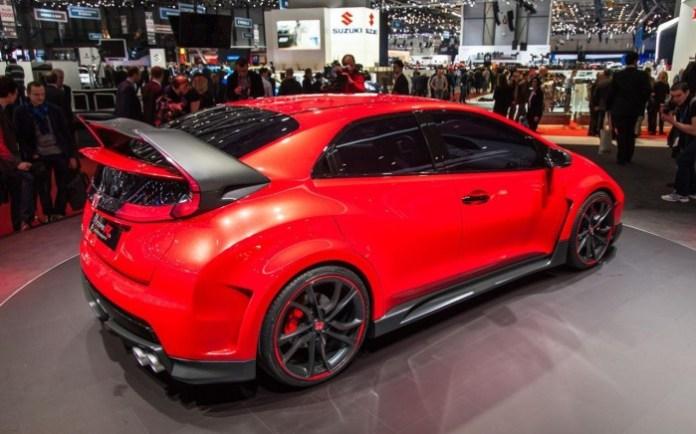 Honda Type R Concept Live in Geneva 2014 (7)