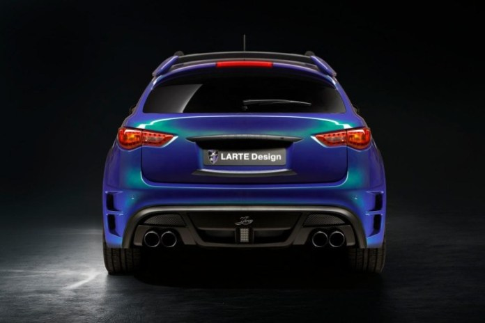 Infiniti QX70 by LARTE Design 3
