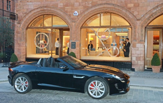 Jaguar & Moynat luggage for F-Type 5