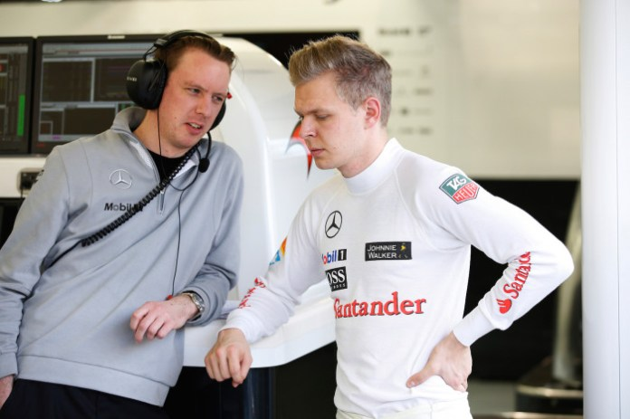 Kevin Magnussen and Will Jospeh