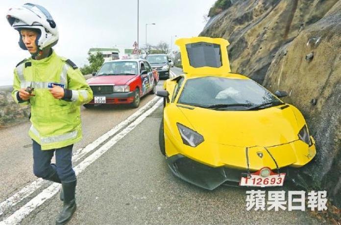 Lamborghini Aventador LP 720-4 50 Anniversario crash (1)