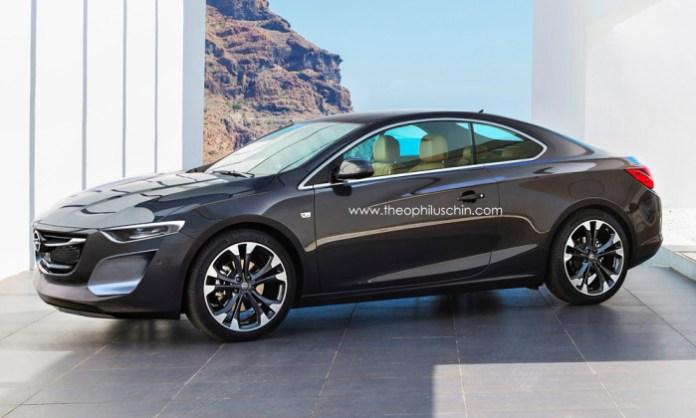 Opel Calibra rendering