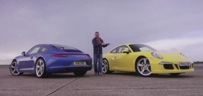Porsche 911 4S vs Porsche 911 Carrea 2S