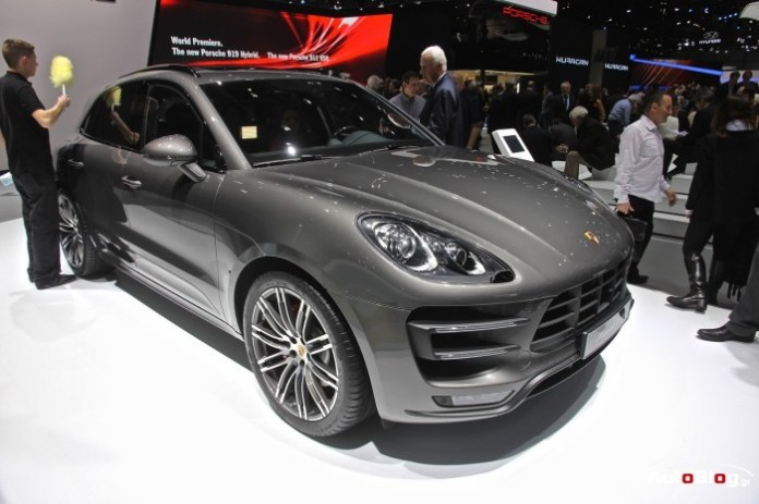 Porsche 911 Targa and Macan Diesel S in Geneva 2014