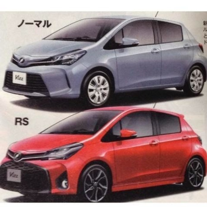 Toyota Yaris Facelift (1)