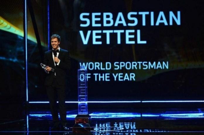 Vettel Laureus Award