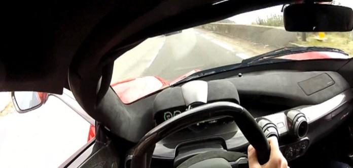 You DRIVE Fast the LaFerrari!