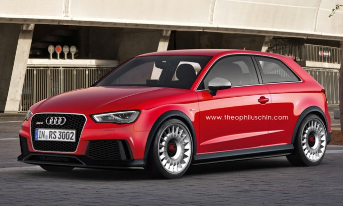 Audi RS3 Coupe Rendering