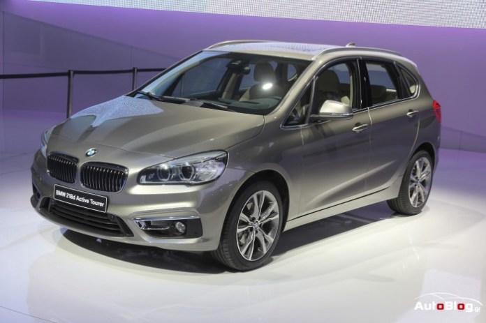 BMW 2 Series Active Tourer Live in Geneva 2014