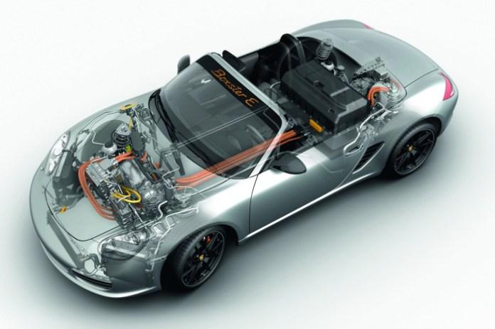 Porsche Boxster E prototype