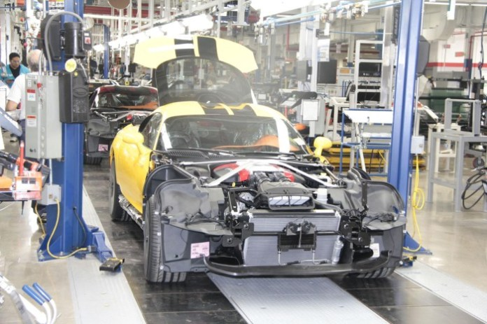 SRT Viper Production start