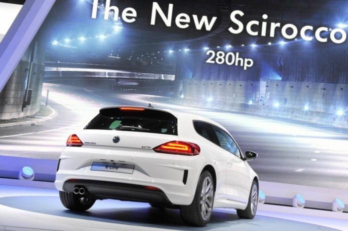Volkswagen Scirocco facelift live in Geneva 2014