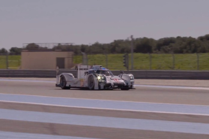 2014 Porsche 919 Hybrid Le Mans Prototype at Paul Ricard