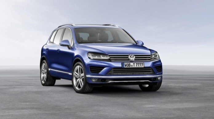 2015 Volkswagen Touareg facelift 1
