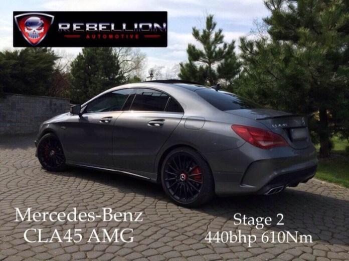 Mercedes-Benz CLA 45 AMG by Rebellion Automotive