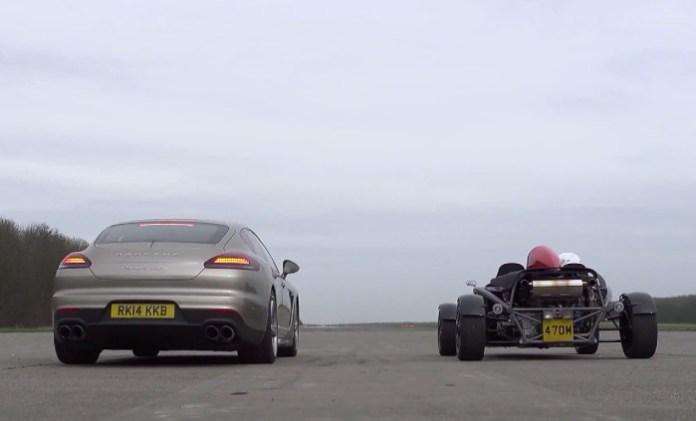 Ariel Atom Vs Porsche Panamera Turbo S