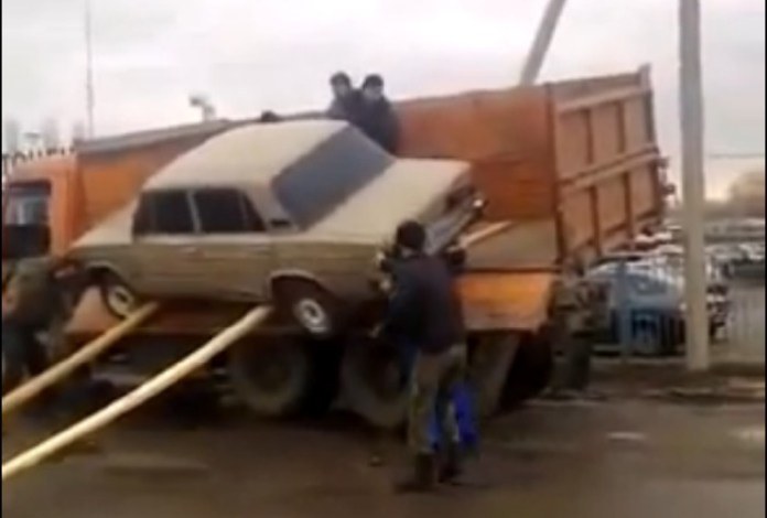 Car unloading fail