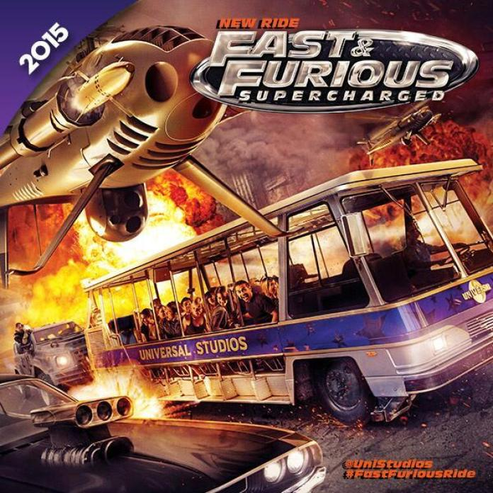 Fast and Furious Supercharged theme parκ