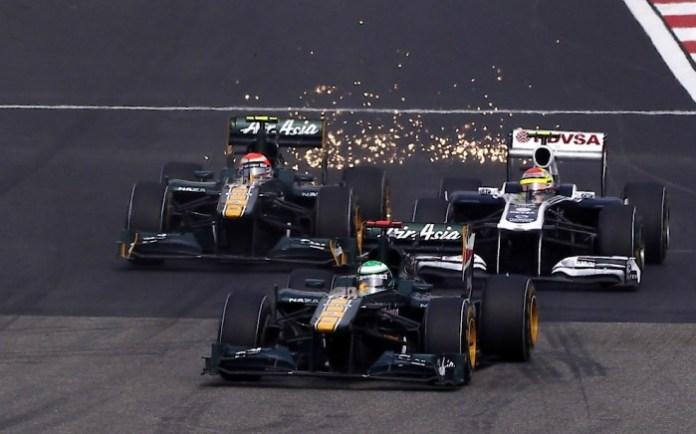 Formula 1 Sparks 2011