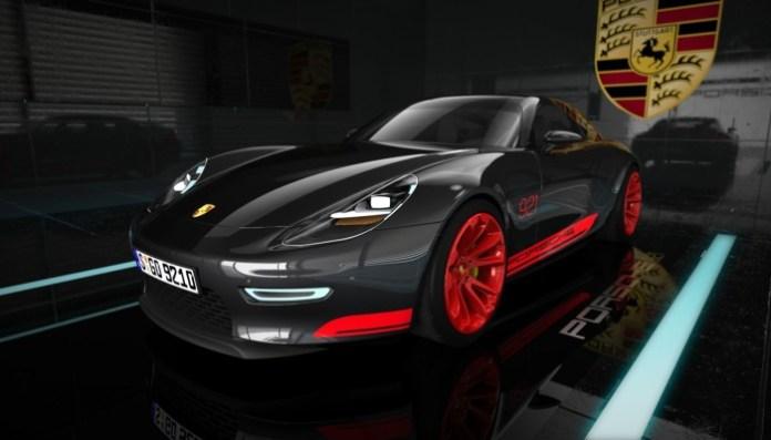 Porsche 921 Vision Concept Study