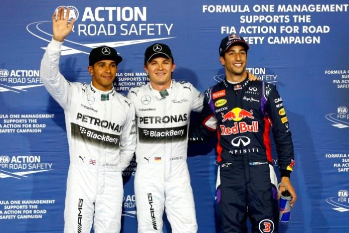 Rosberg-Hamilton-Ricciardo