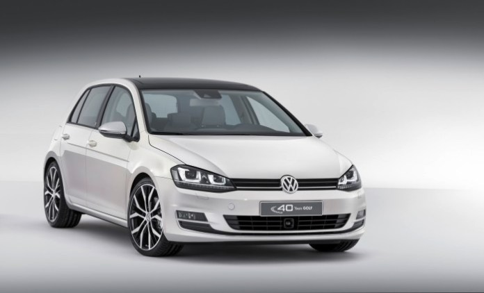 Volkswagen Golf 40th anniversary Edition Concept