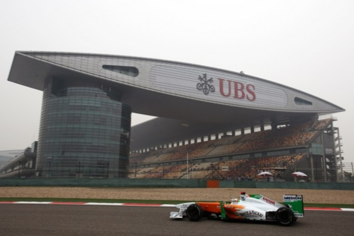 Formula One World Championship, Rd 3, Chinese Grand Prix, Practice Day, Shanghai, China, Friday 15 April 2011.
