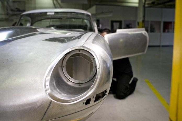 1963 Jaguar Lightweight E-Type 1