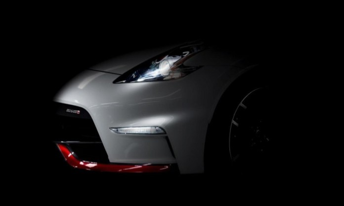 2015 Nissan 370Z Nismo teaser image