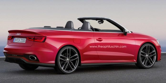Audi RS3 Cabriolet Renderings (2)