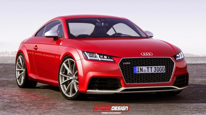 Audi TT RS rendering