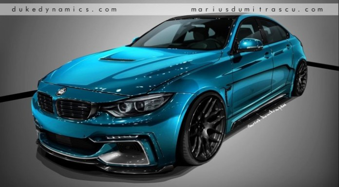 BMW 4-Series Gran Coupe Aero Kit by Duke Dynamics (1)