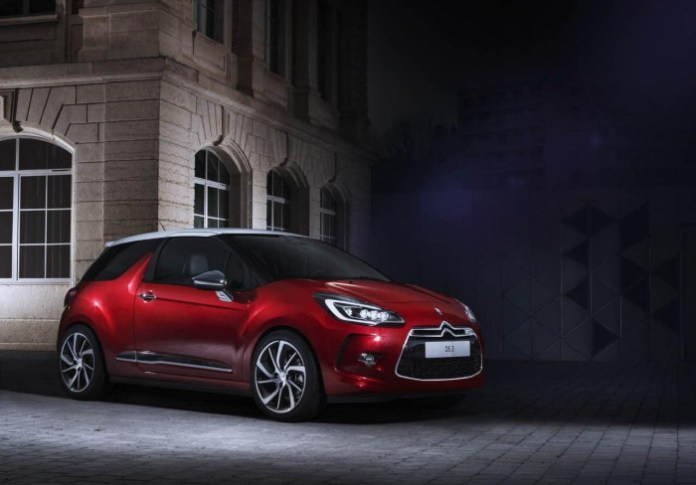 Citroen DS3 and DS3 Cabrio facelift 2015