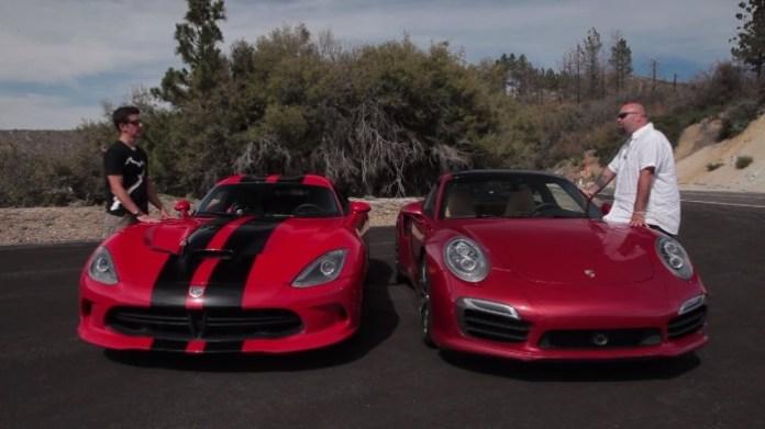 Dodge Viper GTS Vs Porsche 911 Turbo S