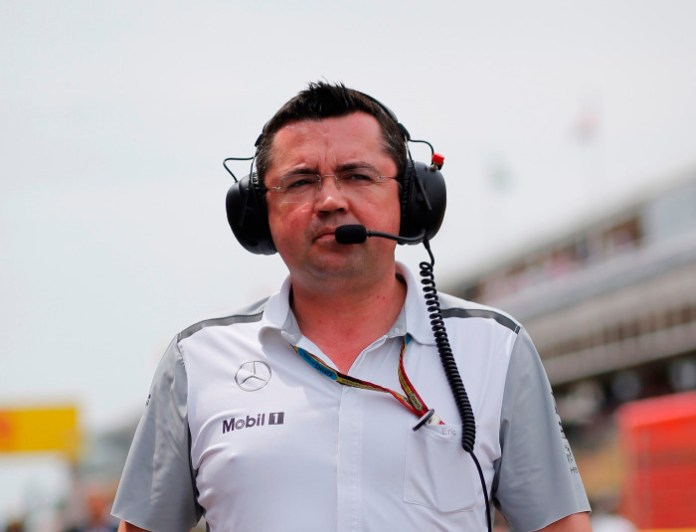 Sporting Director Eric Boullier.