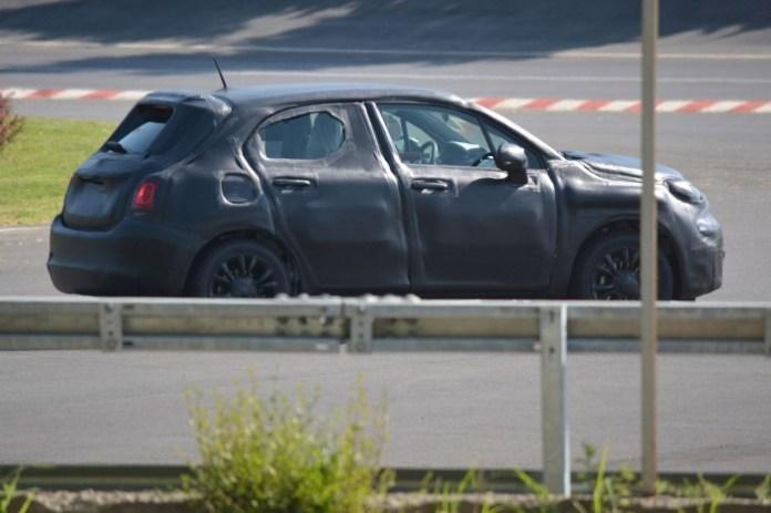 Fiat 500X 2015 Spy Photos