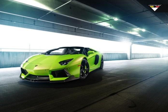 Lamborghini Aventador-V Roadster by Vorsteiner 17