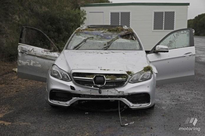 Mercedes-Benz E 63 AMG Crashed 02
