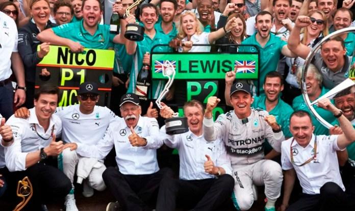 Mercedes GP - Monaco 2014