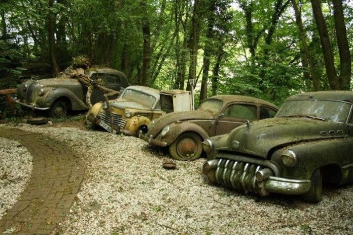 Michael Frohlich abandoned cars